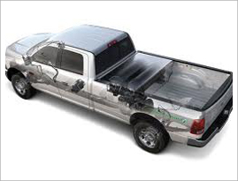 CNG pickup truck||||