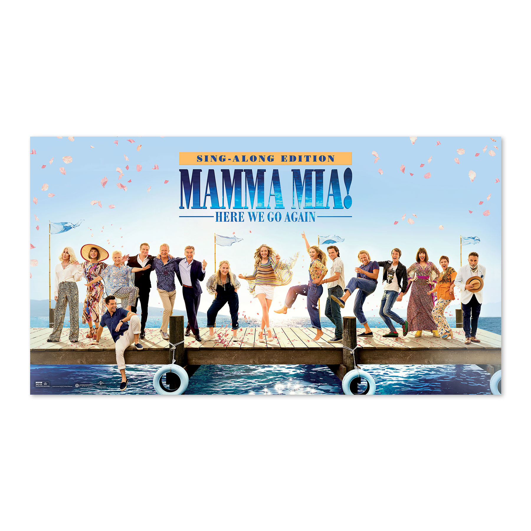 Mamma Mia Target New Release Sign