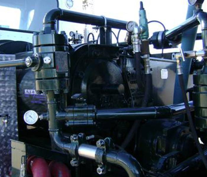 Pump Truck Engine