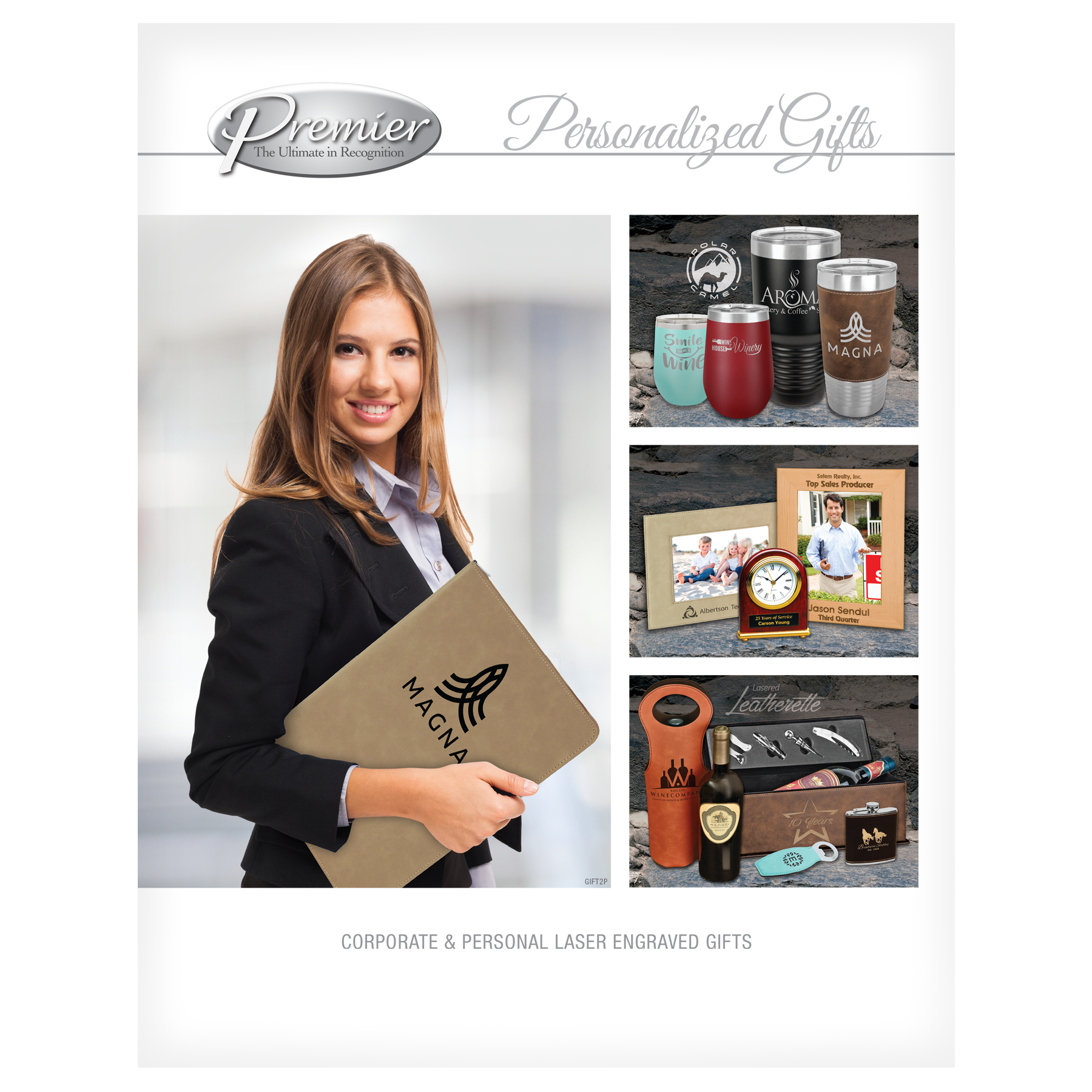 Premier Personalized Gifts Click for catalog