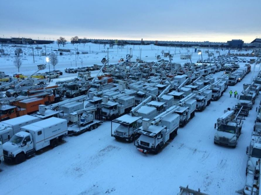 Storm Service Trucks