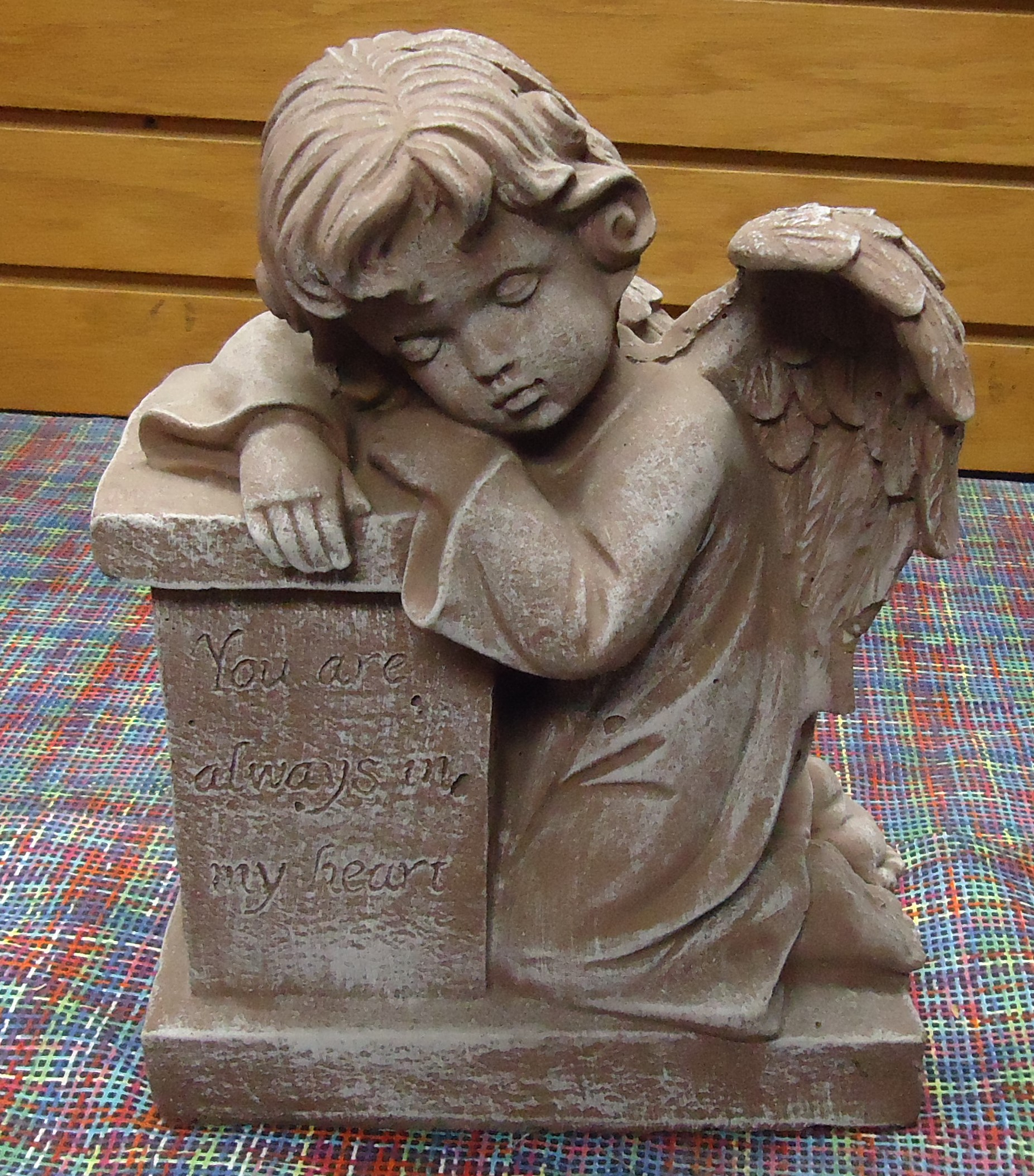 "(45) ""Concrete""  Sleeping Angel  (You Are Always In My Heart) $35.00"