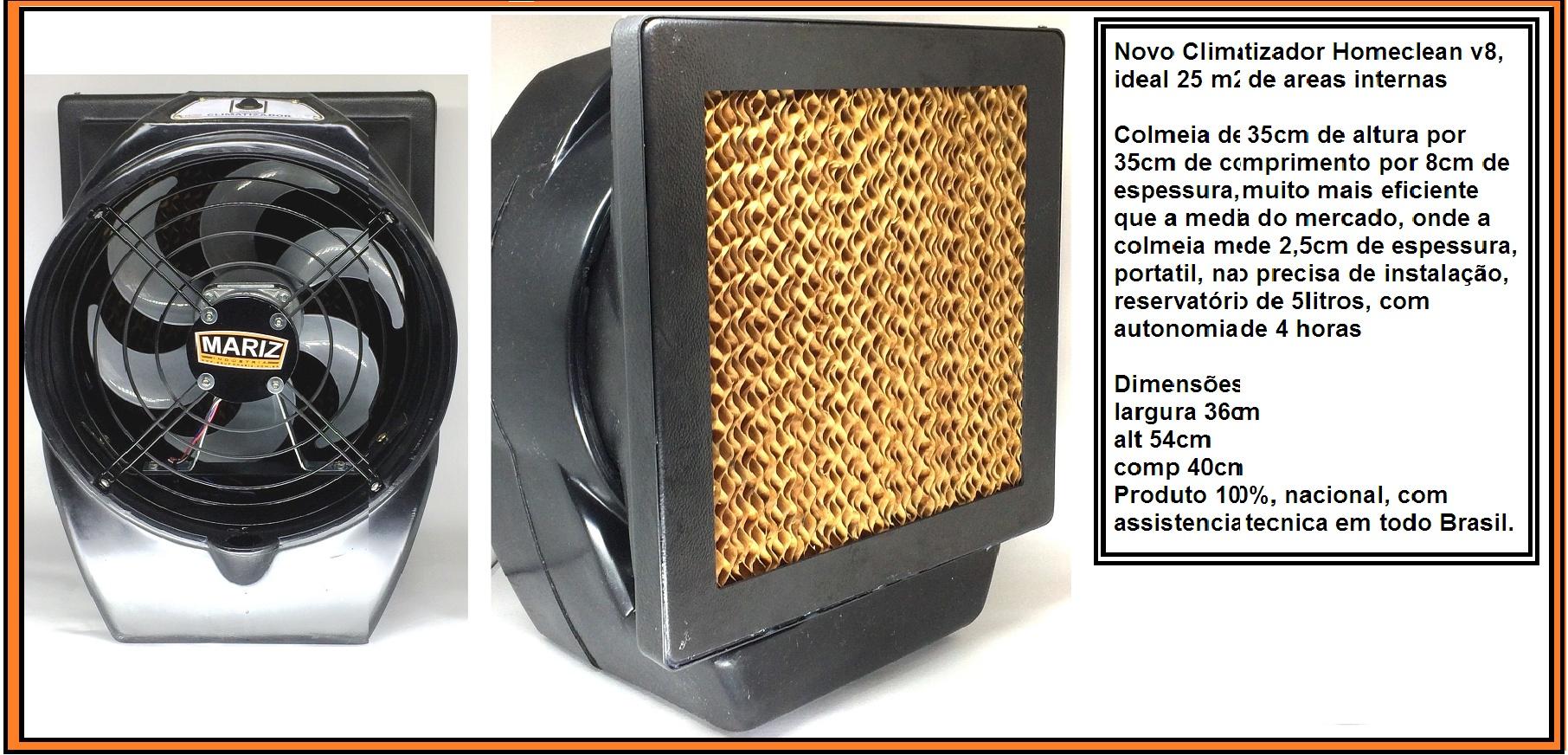 Climatizador Ambiente interno Homeclean V8