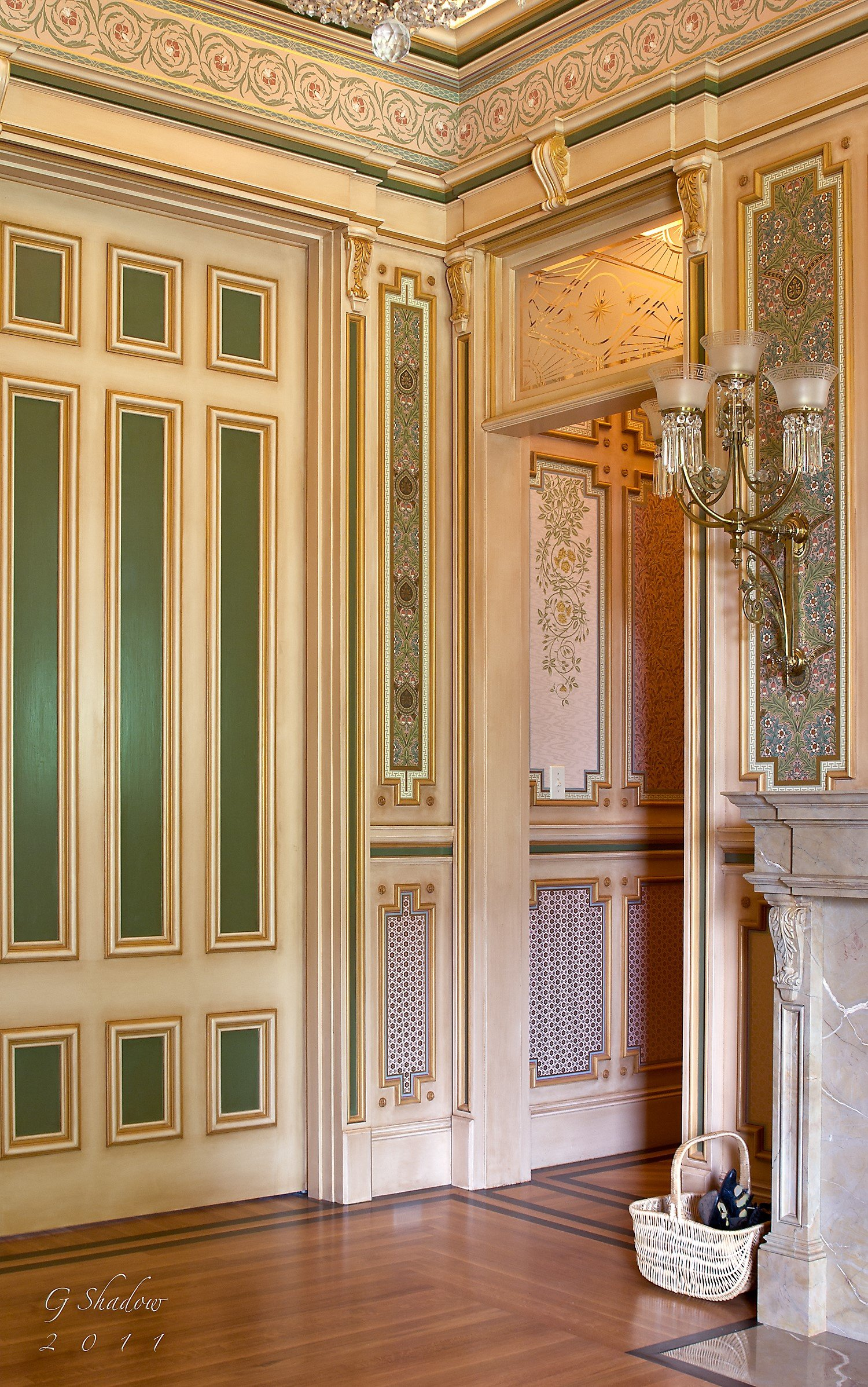 Ladies' Parlor Pocket Doors