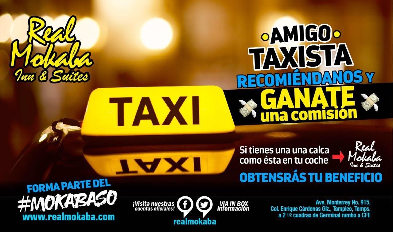Real Mokaba S.A. de C.V. - Taxis seguros