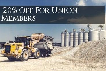 Union Member Discount