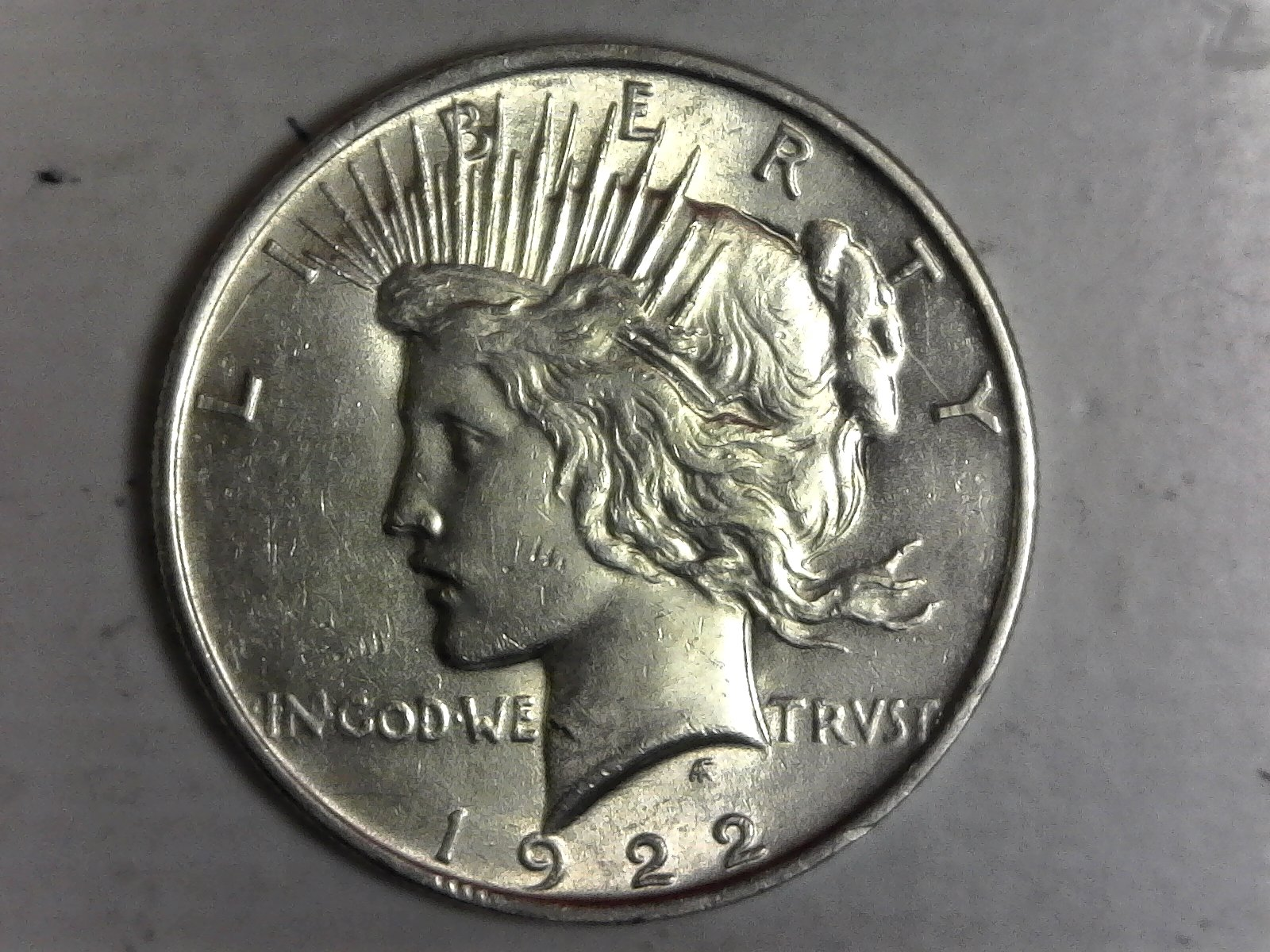 Click on Peace Silver Dollar for Online Inventory