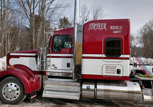 Stryker Trucking LLC Truck