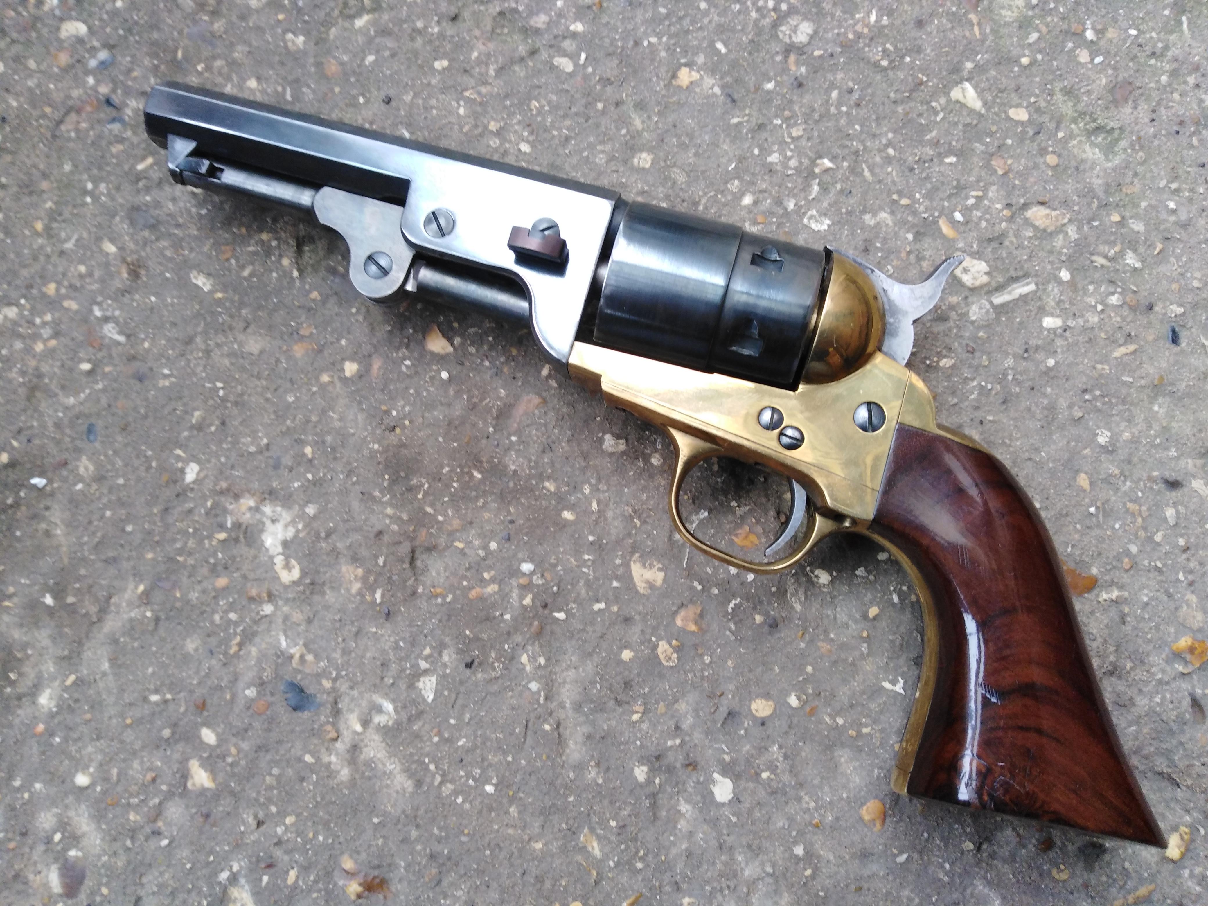 Rare Pietta Colt Navy .22 blank