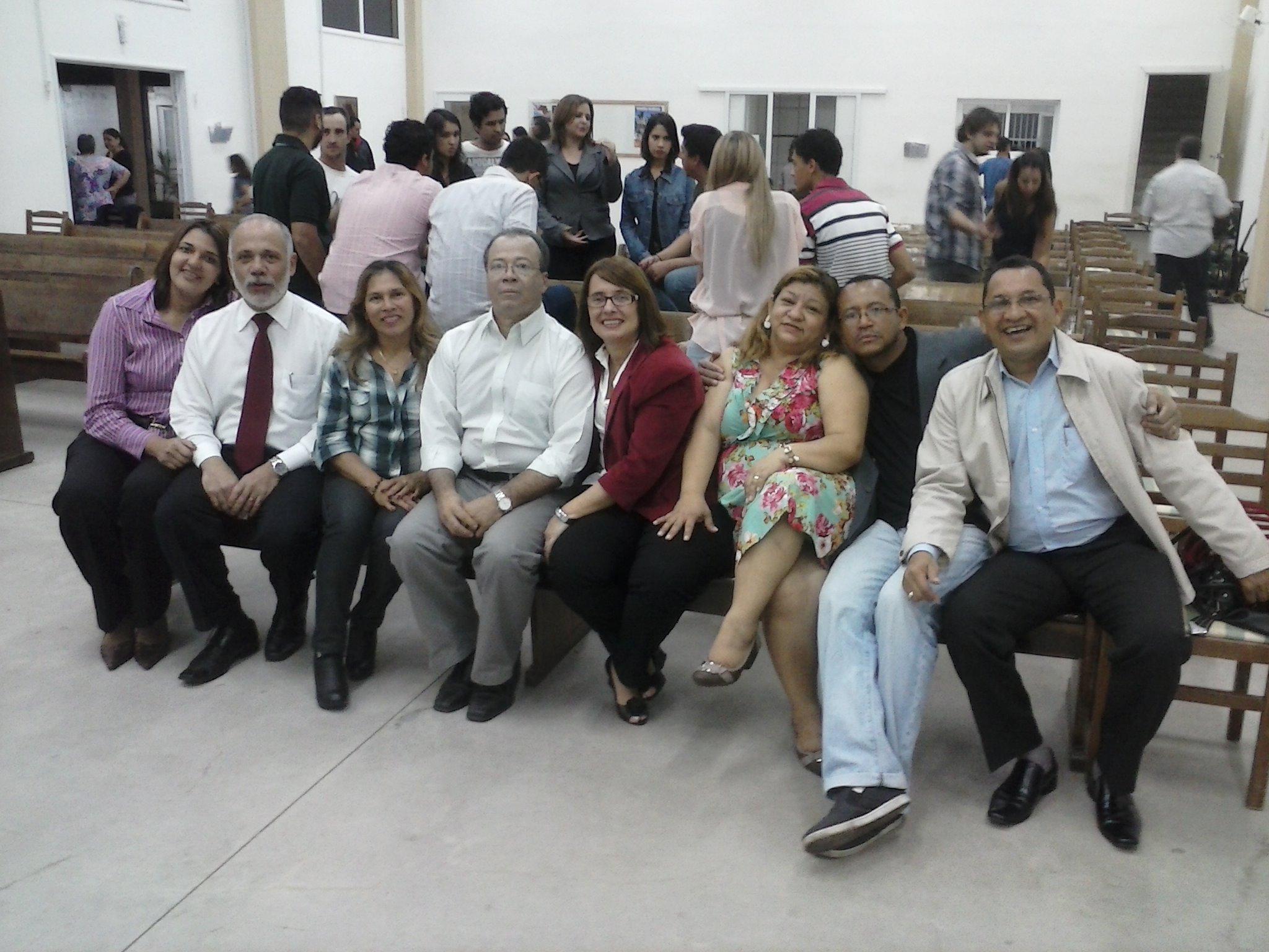 Testemunho na Igreja Nacional, em Valinhos/SP
