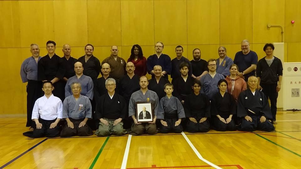 Saturday night Pre-Taikai training group photo.