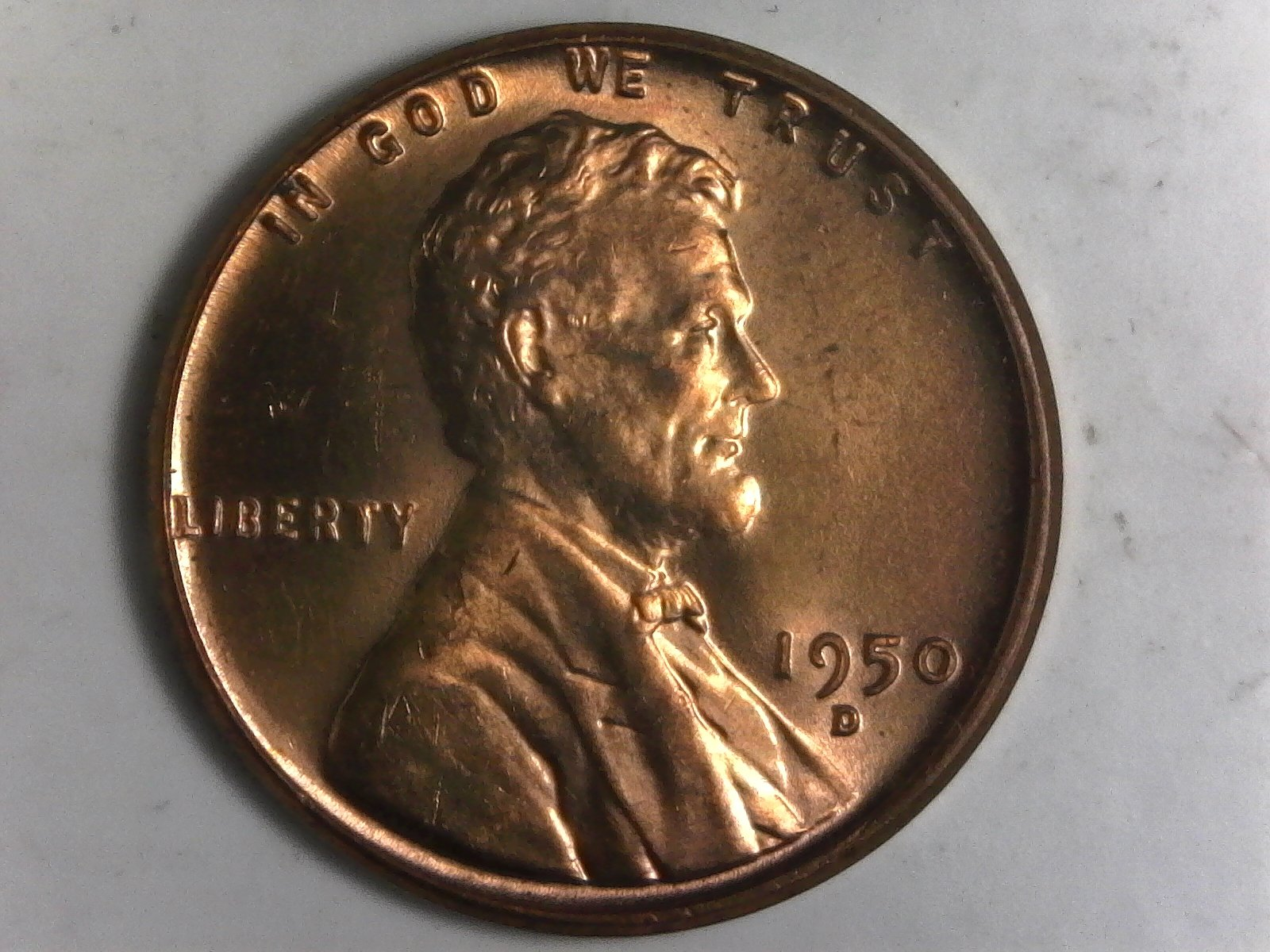 Click on Lincoln Cent for Online Inventory