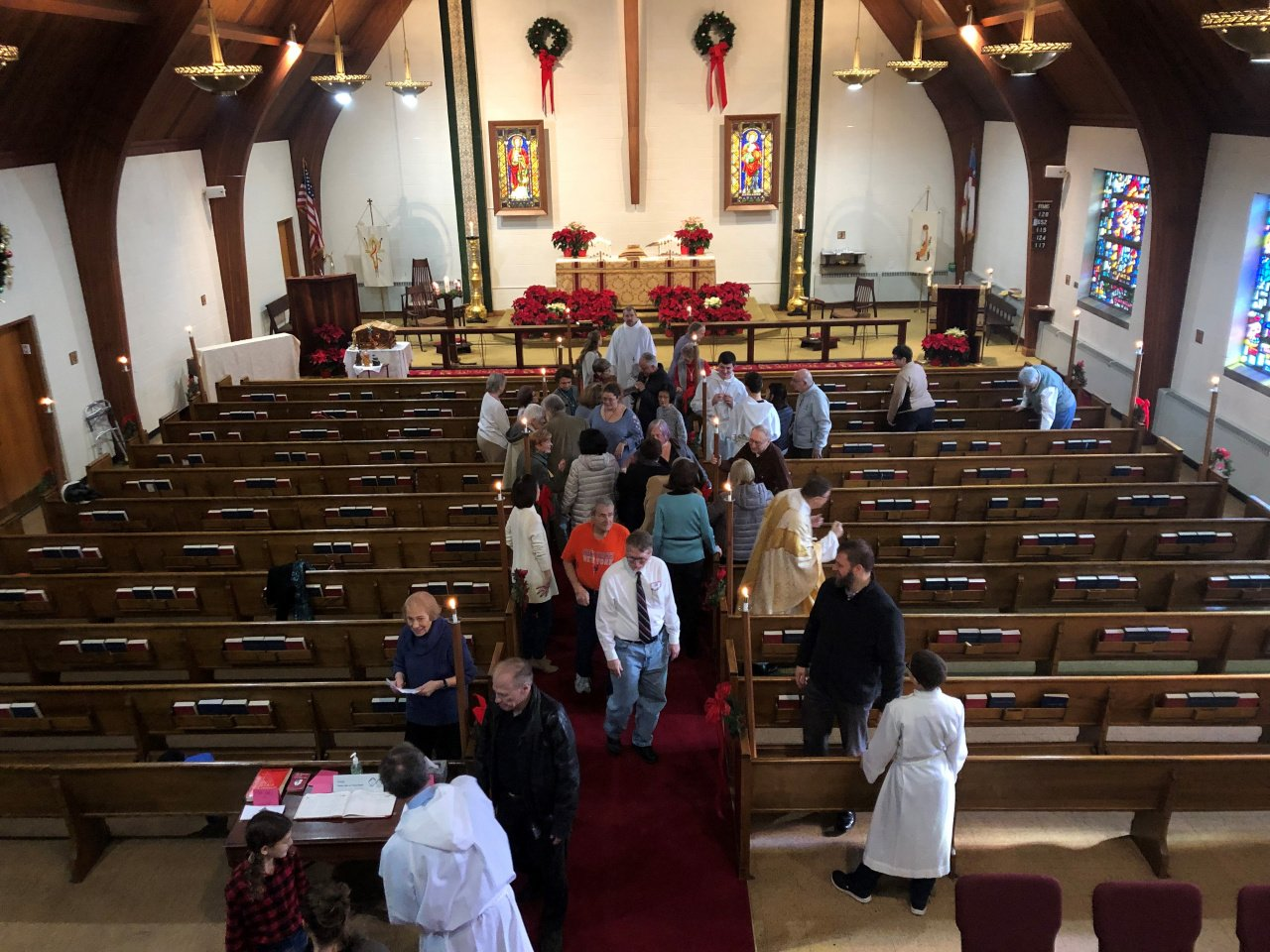 St. Luke's -- The Peace on Epiphany Sunday 2019