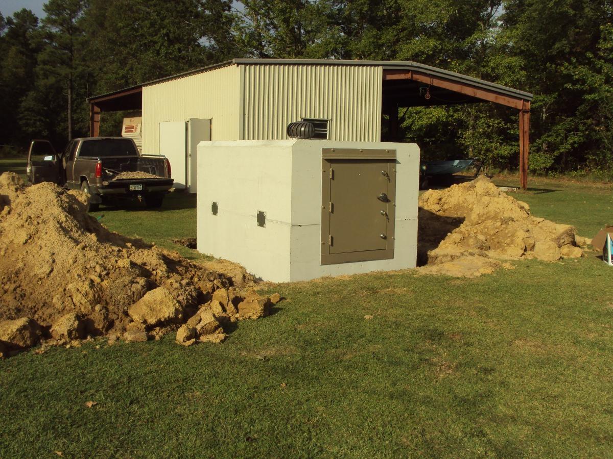 New Bunker Shelter