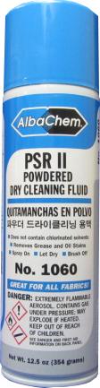 AlbChem PSR II Quitamanchas en Polvo Tamaño: 12.5 oz Can (Pack de 12)