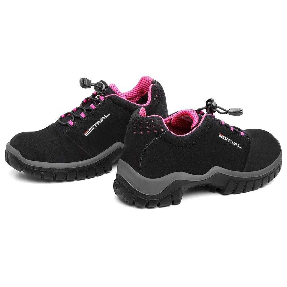 Sapato feminino microfibra ESTIVAL