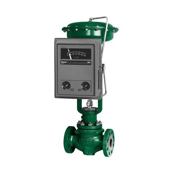 Controlador indicador de la presión manométrica 4195K Fisher™
