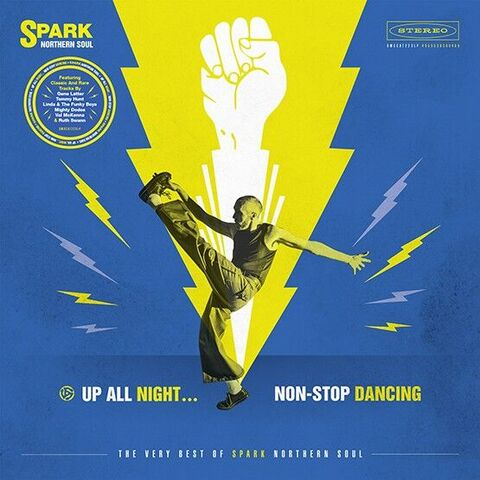 Various (Spark Records) - 'Up All Night, Non-Stop Dancing'