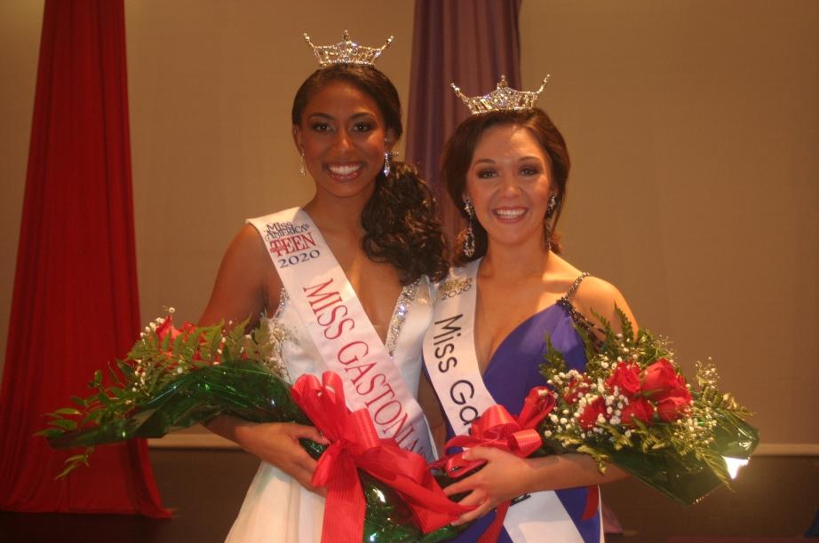 Miss Gastonia's Outstanding Teen Keelie Jones & Miss Gastonia Julia DeSerio