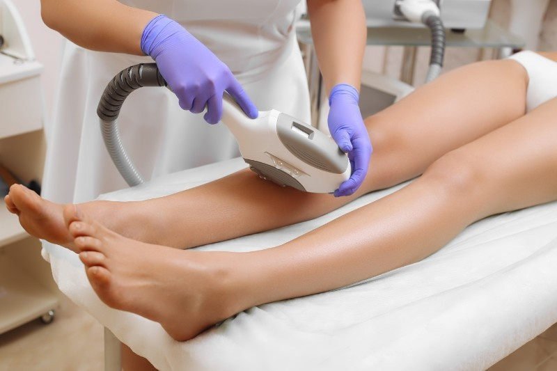 Laser epilation and cosmetology