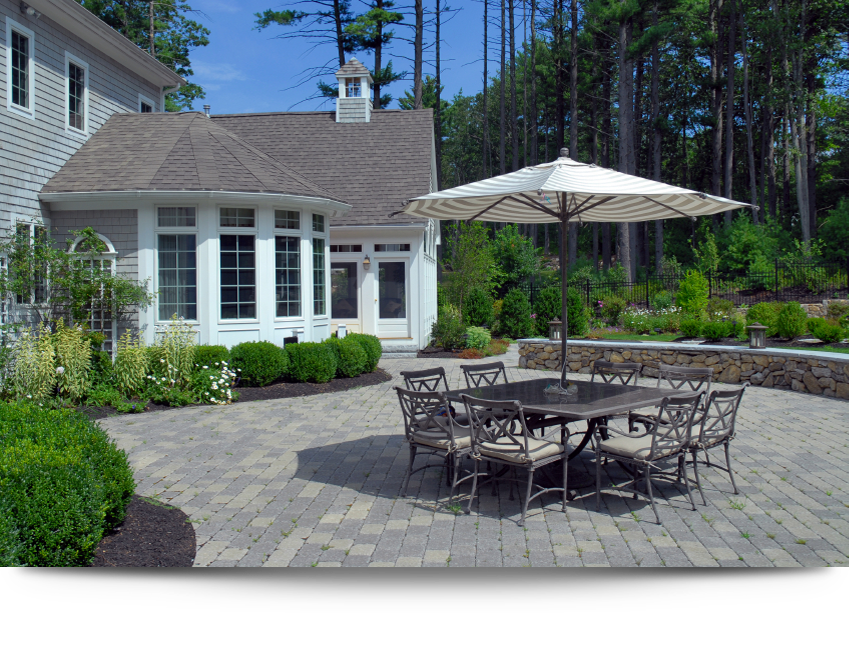 Patio construction services||||