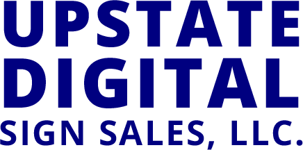 upstate digital sign sales