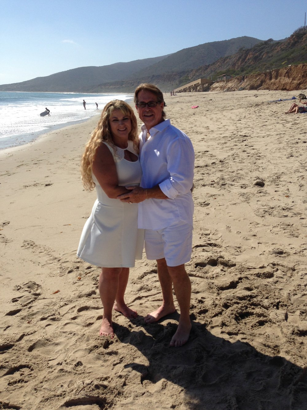 Rick and Rhonda, Nicholas Canyon Beach, Malibu