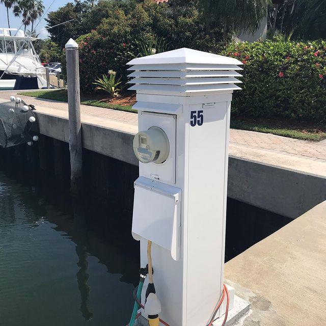 Miami FPL Pedestal
