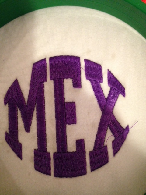 MEX Cap Embroidery