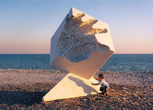 Creation - marble, Marina di Carrara, Italy