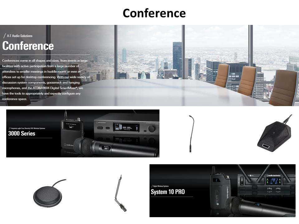 Audio Technica Conference Solutions