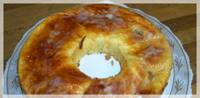 Banana Pineapple Pie Ring