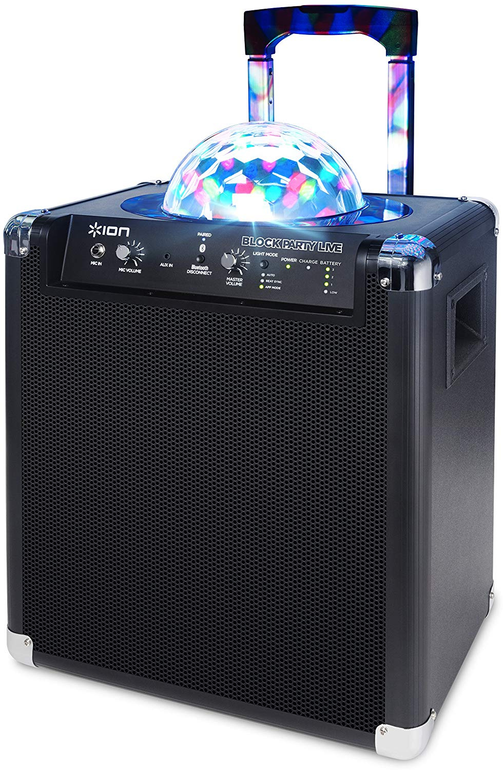 Battery Powered Speaker 50watts $25/day or weekend Bluetooth w/lighting