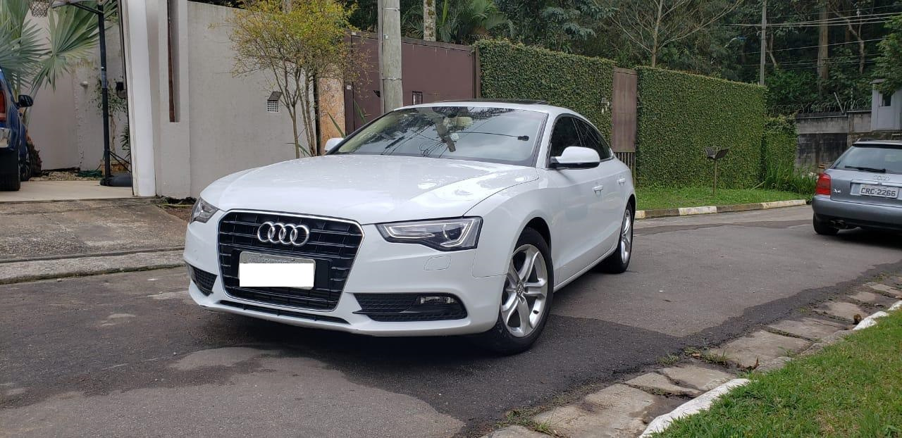 AUDI  A5 1.8 TFSI SPORTBACK ATTRACTION 16V GASOLINA 4P MULTITRONIC 25000 km 2015/2015 R$ 85.000,00