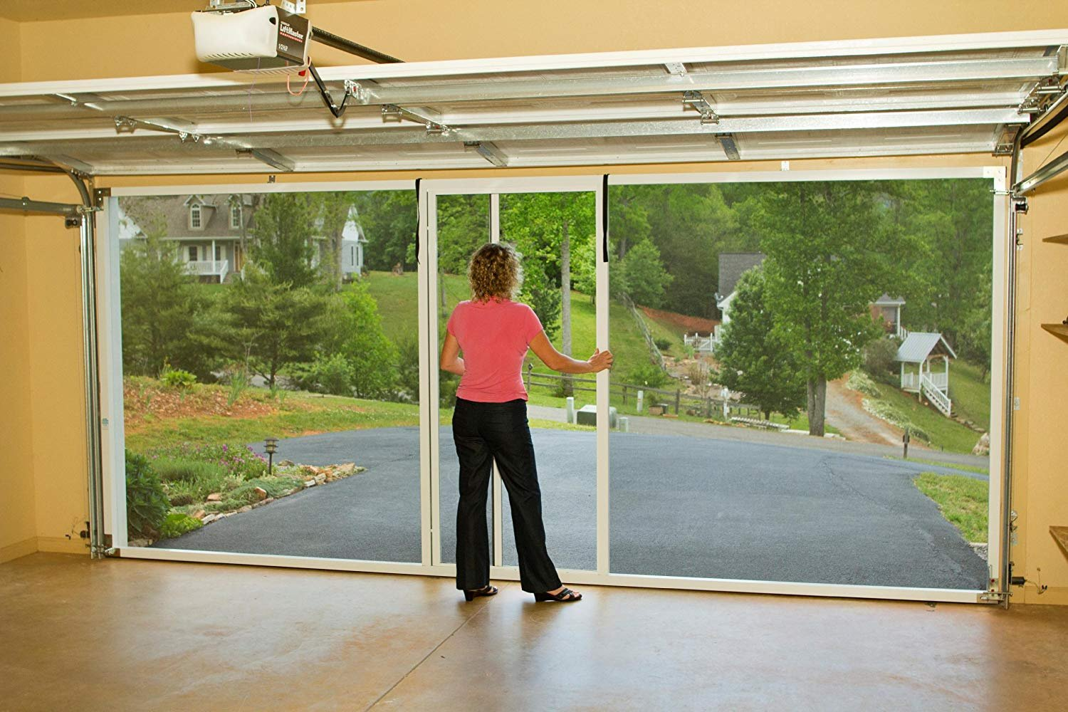 Lifestyle Screen Garage Doors