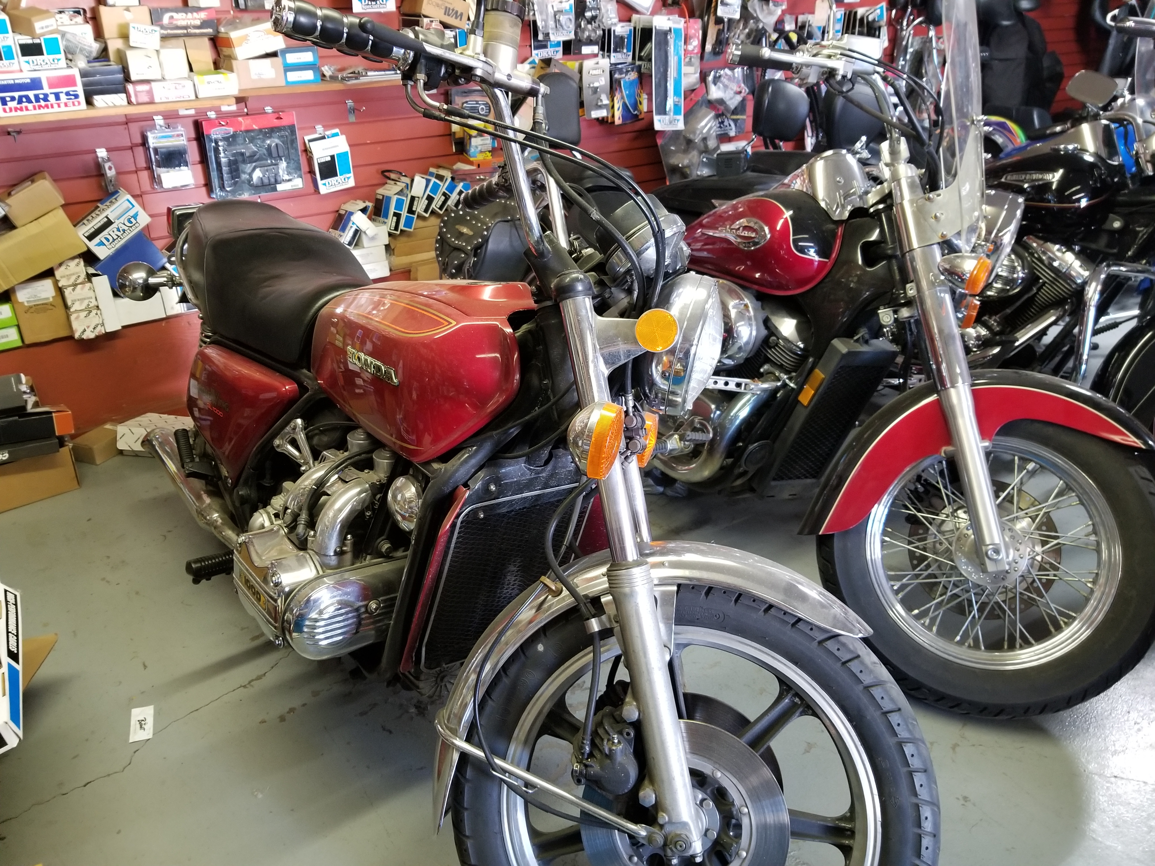 1975 Honda Goldwing 30,000 miles, mint condition $2,000