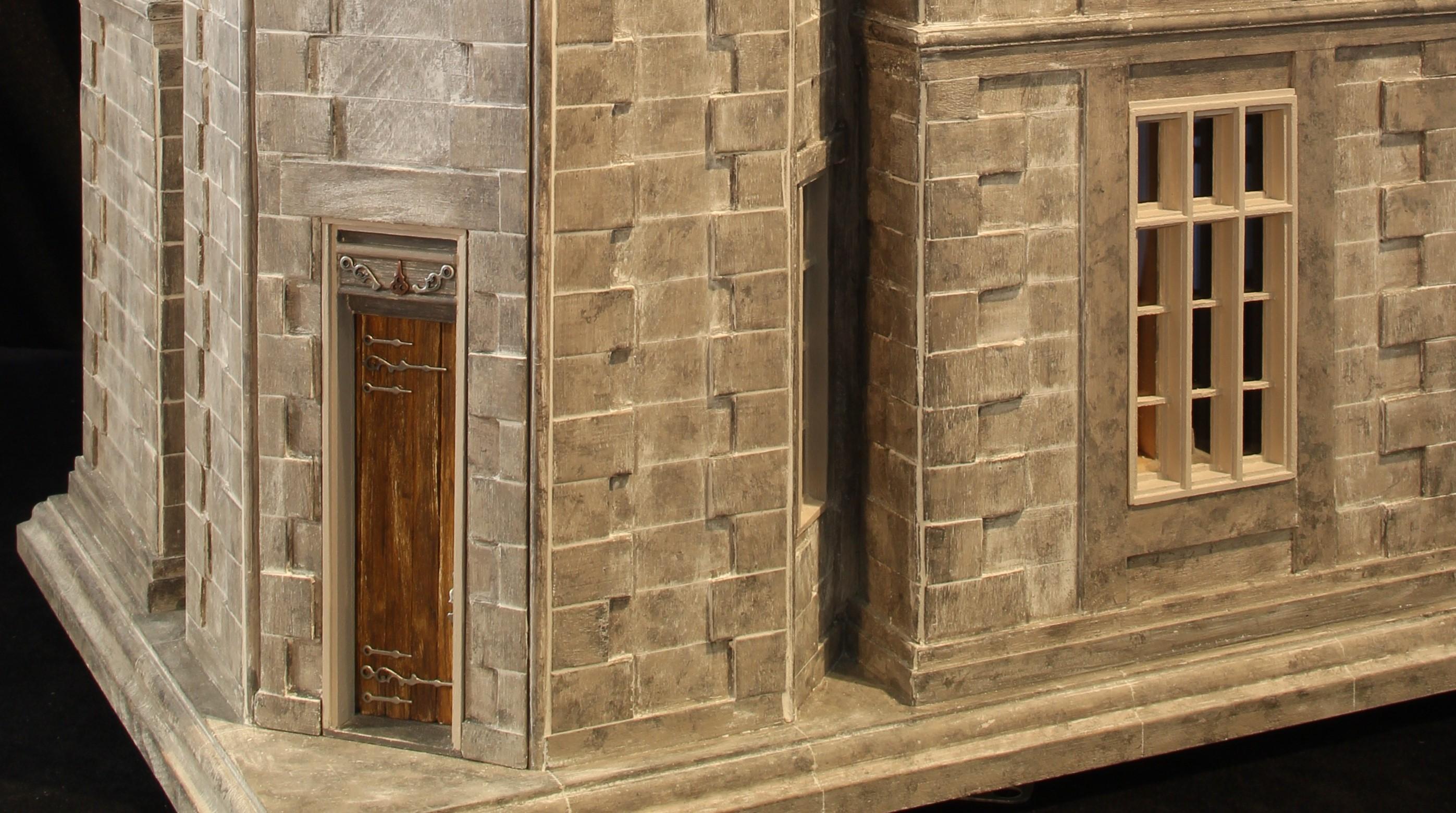 Aged Front Door