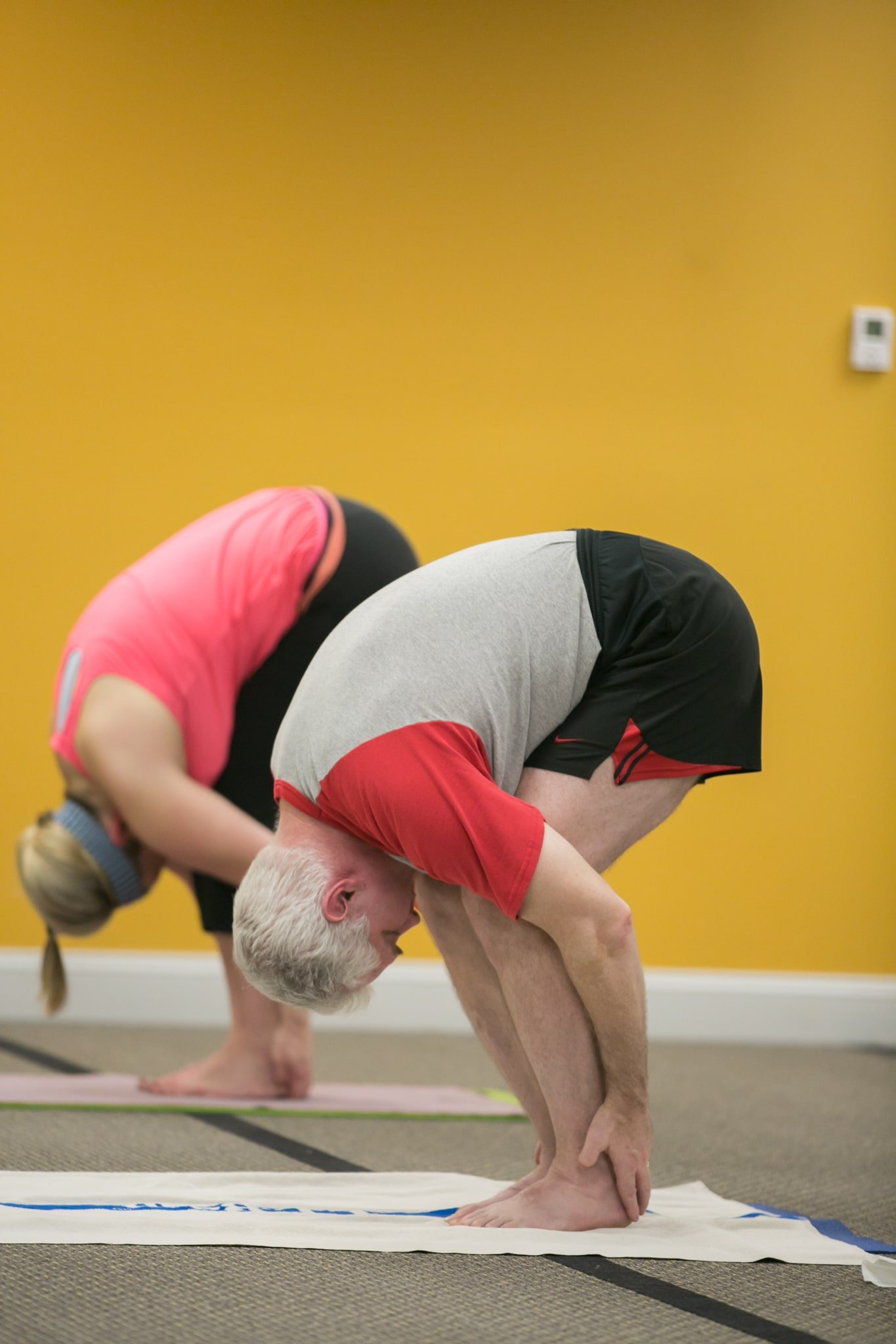 Two Yoga Practitioners