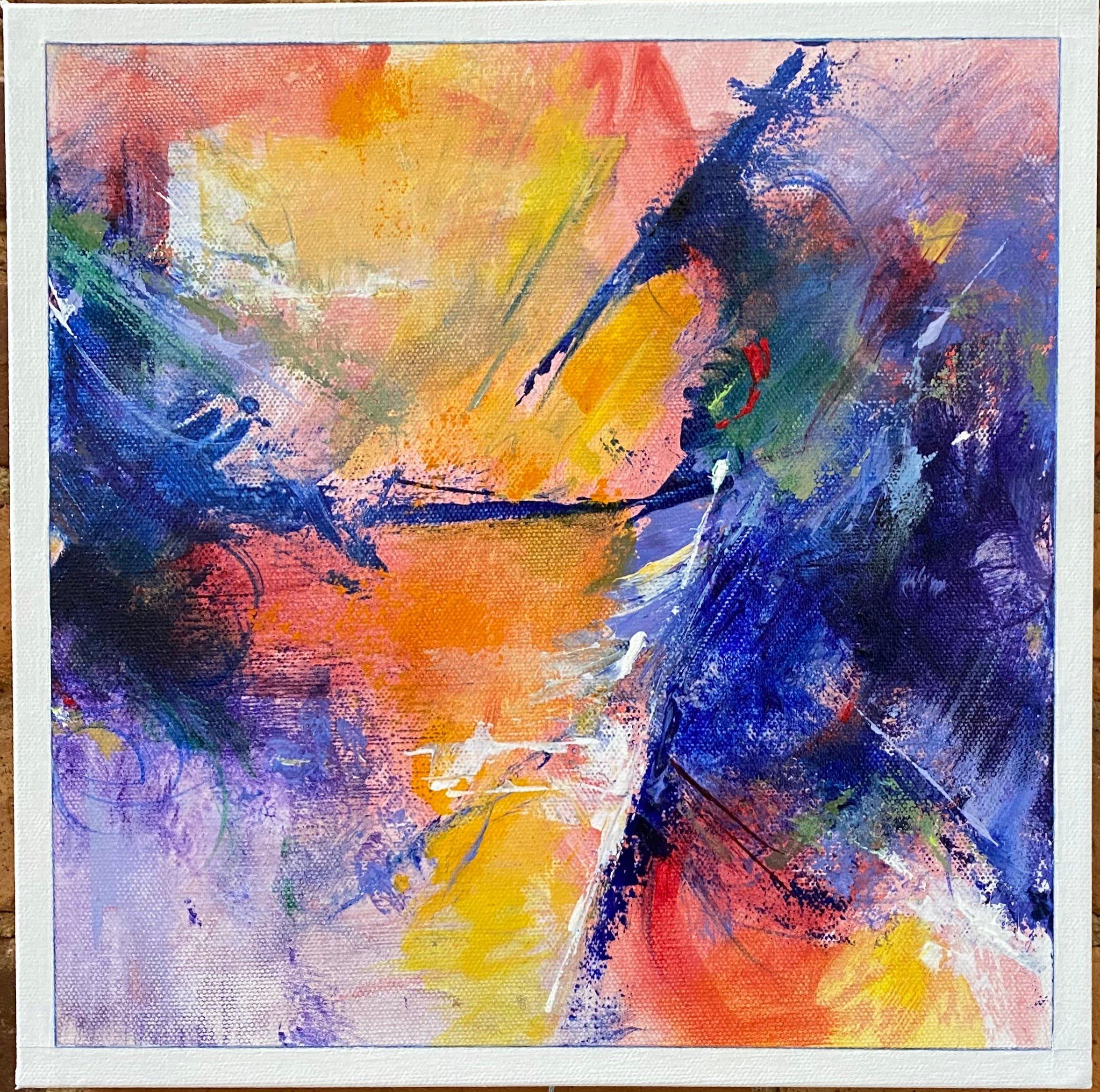 Abstract Acrylic 12'x12' $100.
