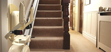 Stairlift Folding Feature