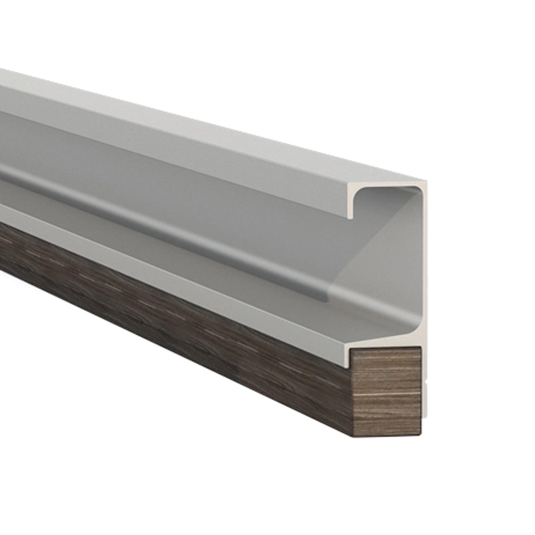 Puxador barra alumínio