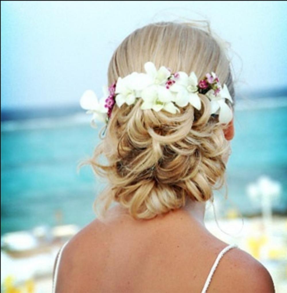 Beach Wedding Hair Style