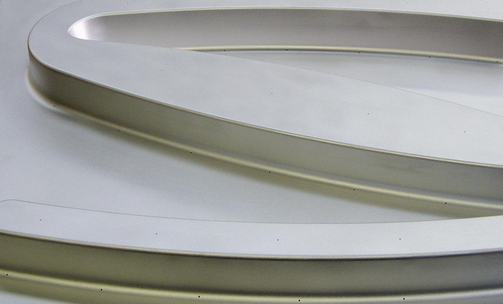 Aluminum Vacuum Mold (detail)