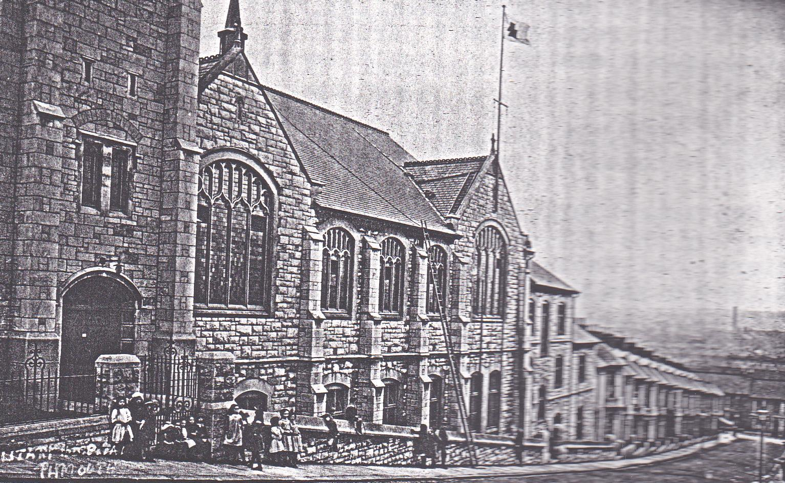 The Building in 1914