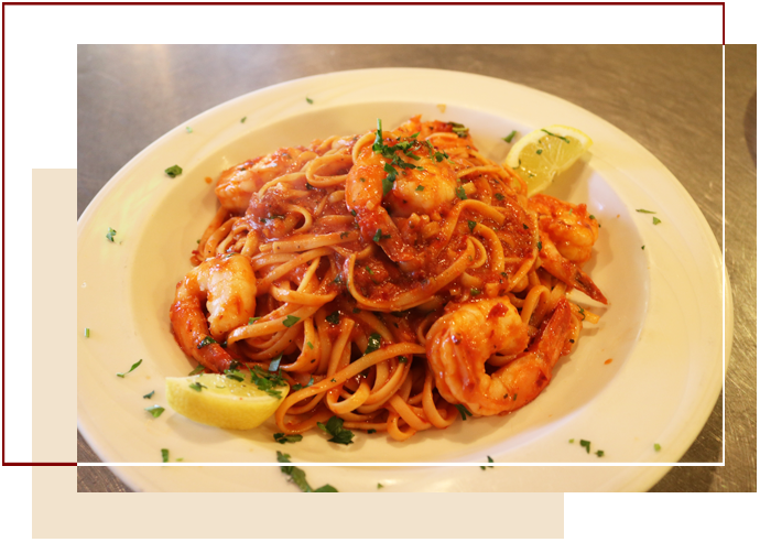 Plate Of Seafood Marinara