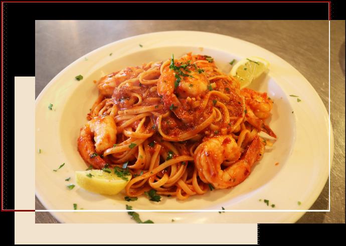 Plate Of Seafood Marinara