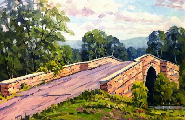 Casselman Bridge, Grantsville, MD, 18 x 24 Oil