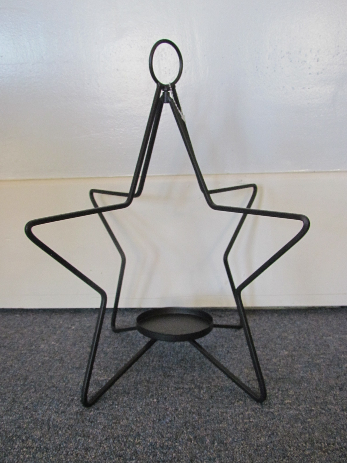 Hanging Star Candle Holder Large $4 / Day
