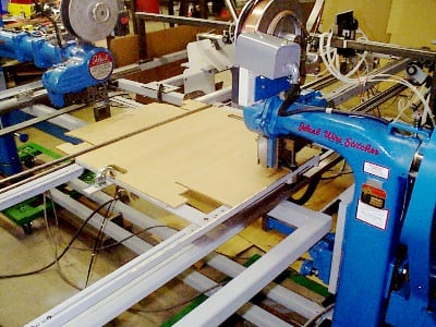 Corrugated and Film Stitch/Glue Machine