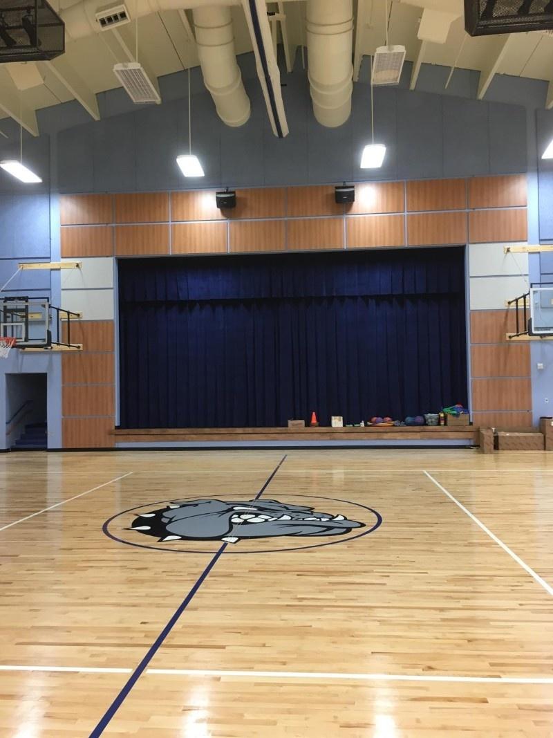 Berwick Elementary School Stage